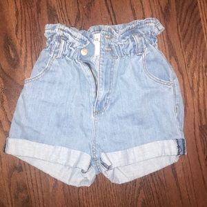 STS Blue Paperbag Shorts